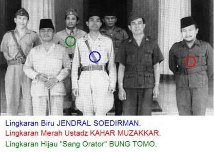 Jendral Soedirman dan Petinggi Militer